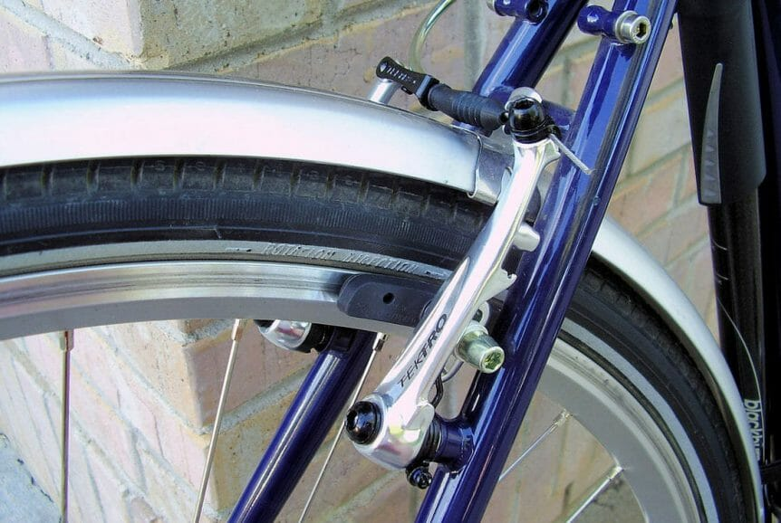 Alloy Rims And Linear Brakes
