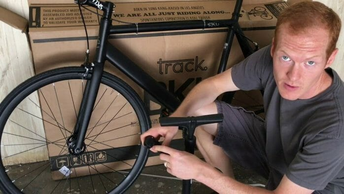 Filling The Missing Links In 6KU Track Fixed Gear Bicycle