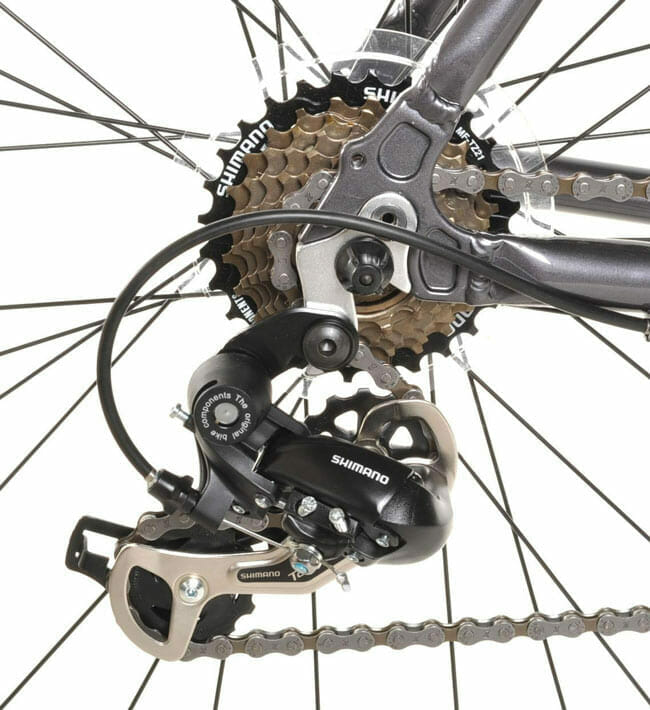Superior Wheels And Reliable Brakes