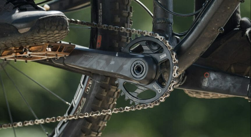 Suspension Fork And Crank