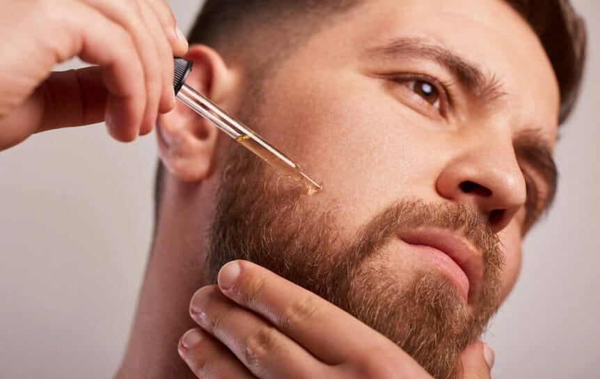 Experiment With Beard Oil If Desired